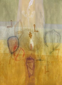 Omo Kibish (Collection II) mixed media on paper 30 x 22 $2400 (framed) 2014