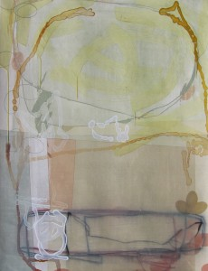 Lake Turkana (Budding After The Rest) mixed media on paper 30 x 22 $2400 2013