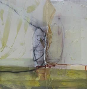 Cuttings (Sheath) mixed media on canvas 48 x 48 $6000 2014