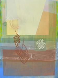 Tintern Abbey (Wreaths Of Smoke) mixed media on canvas 48 x 36 $5600 2014