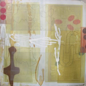 Excavation (Resurrection Pattern) mixed media on canvas 24 x 24 $1600 2011