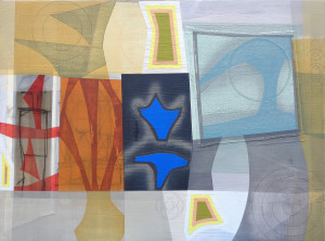 Liminal Icon (Mariner I) canvas 31 x 42 $5000 2019