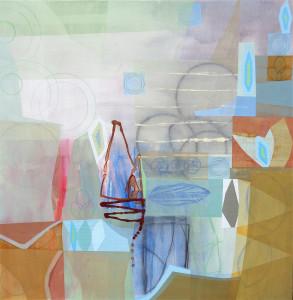 Prufrock I canvas 48 x 48 $6000 2018