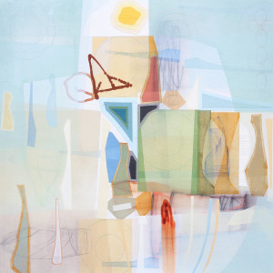 Prufrock III 48 x 48 canvas $6000 2018