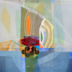 Newgrange (Landscape I) canvas 48 x 48 $6000 2021