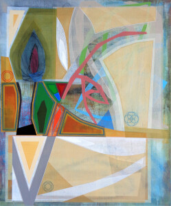 Organic Geometry (Cuttings I) canvas 48 x 40 $6000 2020