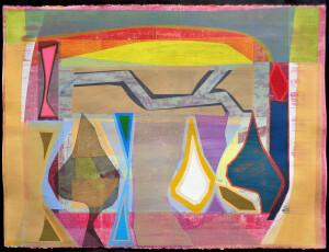 Organic Geometry (Diebenkorn II) paper 22 x 30 $3400 2020