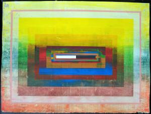 Organic Geometry (Hodgkin II) paper 22 x 30 $3400 2020