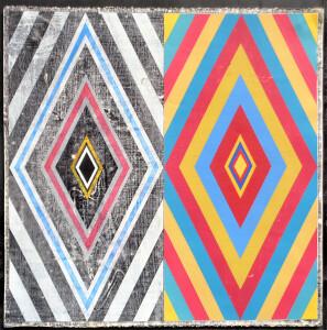 Organic Geometry (Lewitt I) paper 22 x 22 $2600 2020