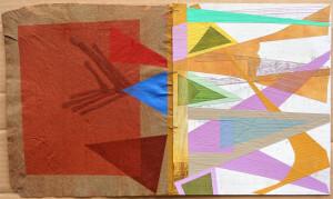 Tattoo Folios (Layered Arrows) paper 11 x 19 $1700 2020